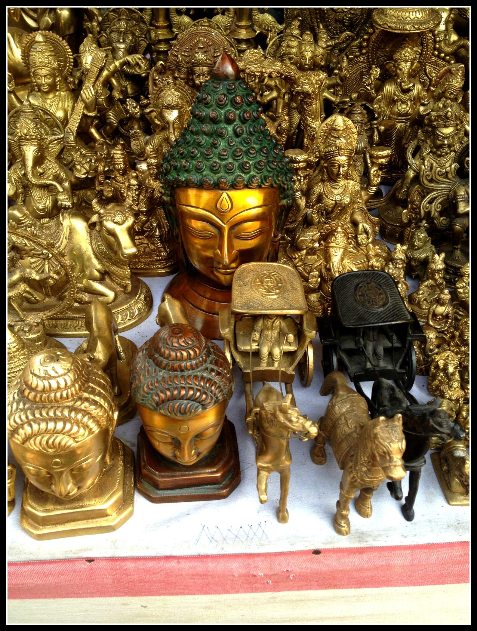 Beautiful adorned Buddha